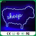 Modelo Animal forma flexível LEVOU tubo de luz de néon sinais para atrair as pessoas em shopping center