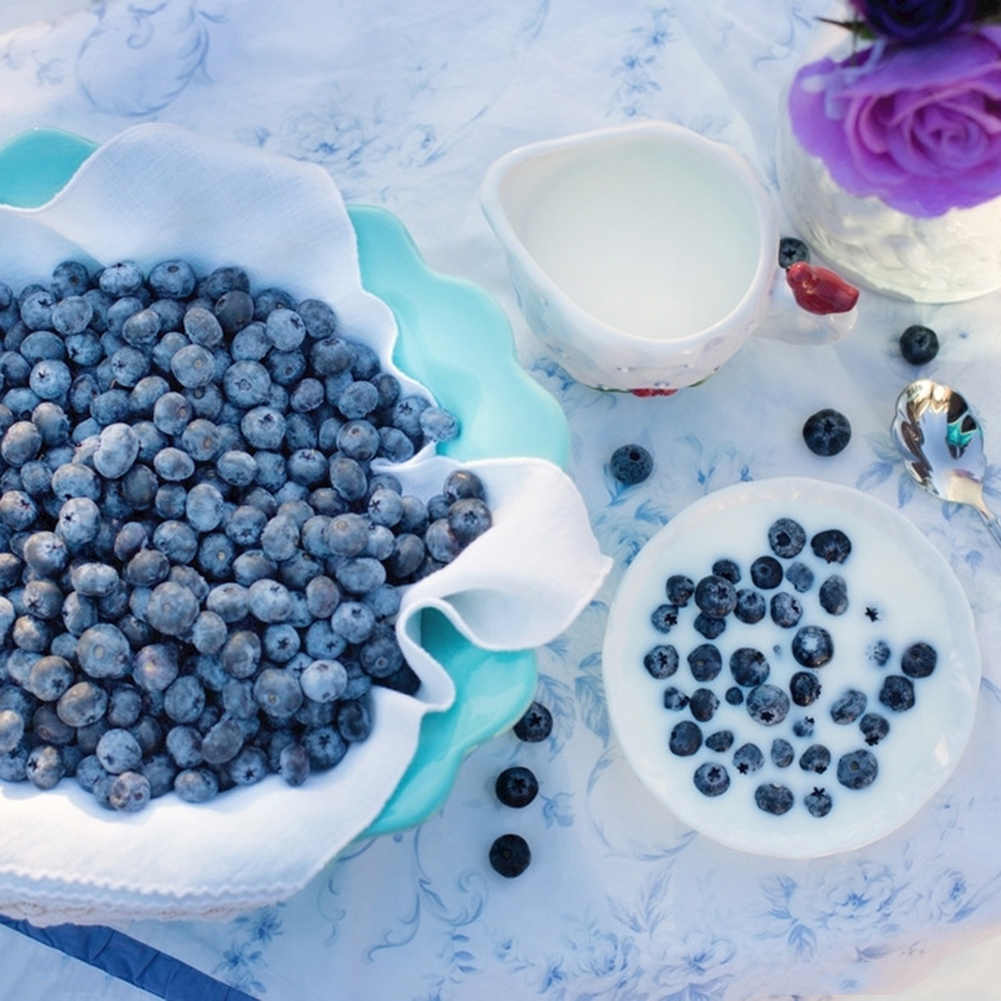 50 Pcs/set Buatan Blueberry Kerajinan Tinggi Simulasi Palsu Buah Rumah Dapur Kabinet Dekorasi