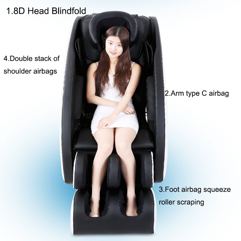 Luxury Massage Chair Home Full Body Massage Chair Massage Sofa Chair Multi-Functional Electric Kneading Finger Pressure