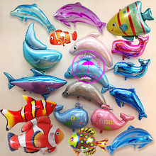 animal balloon animals happy birthday decoration children parties flying balloon inflatable dolphin clown fish balloon цена