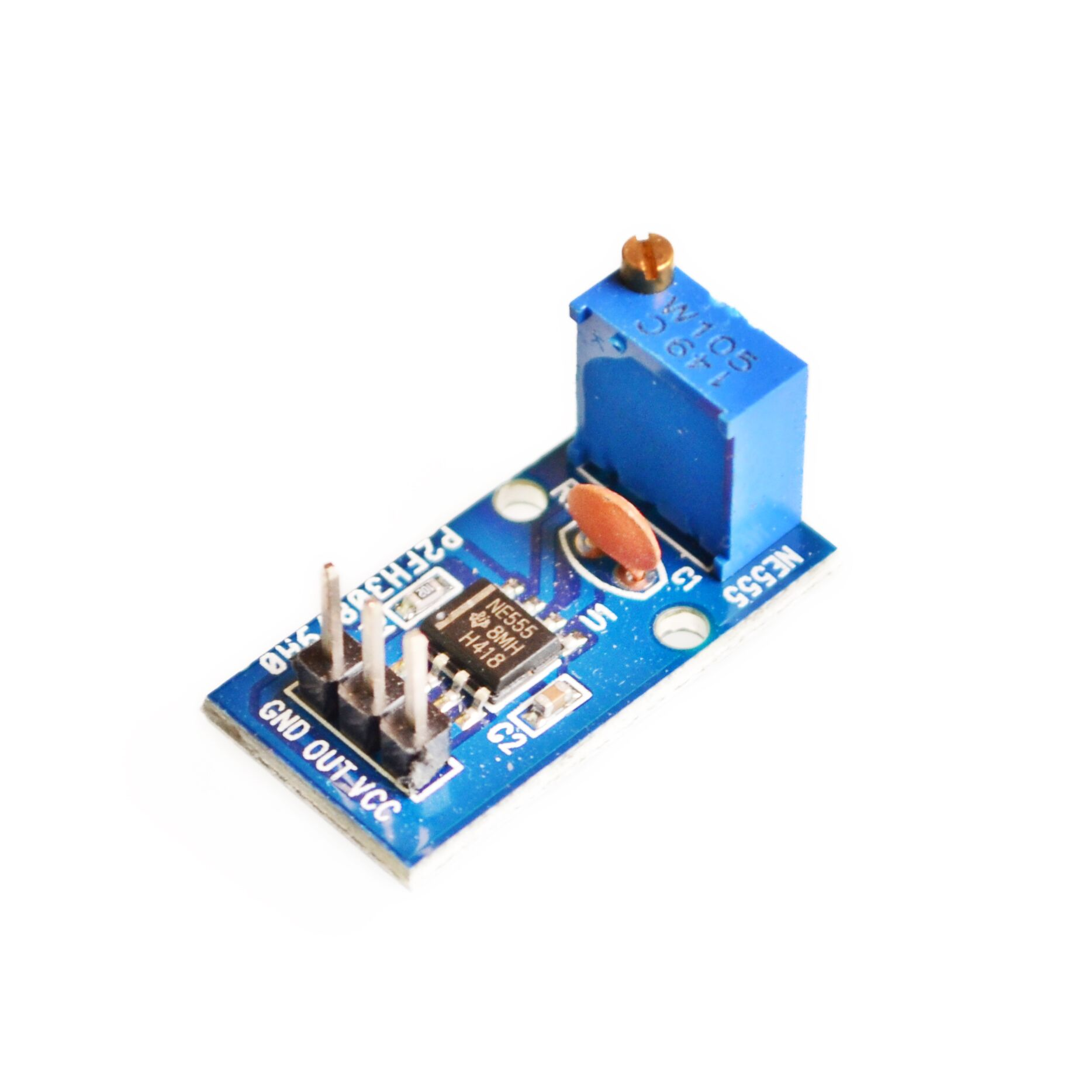 Ne555 Pulse Frequency Duty Cycle Adjustable Module Square Wave Mcu Controlled Superregeneration With Quartz Oscillators Generator