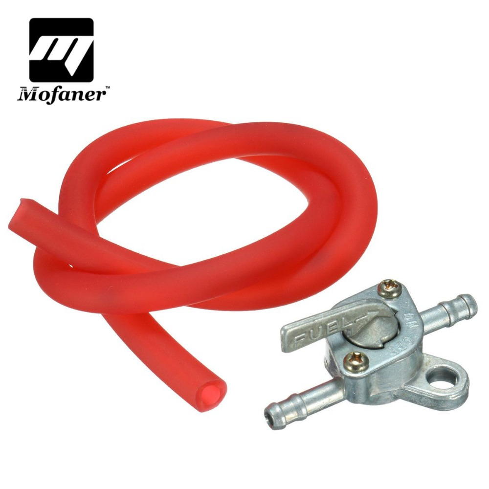 Motorcycle Petrol Fuel Line Hose and Fuel Tank Tap Switch Pit Dirt Quad Bike ATV 110cc 125cc