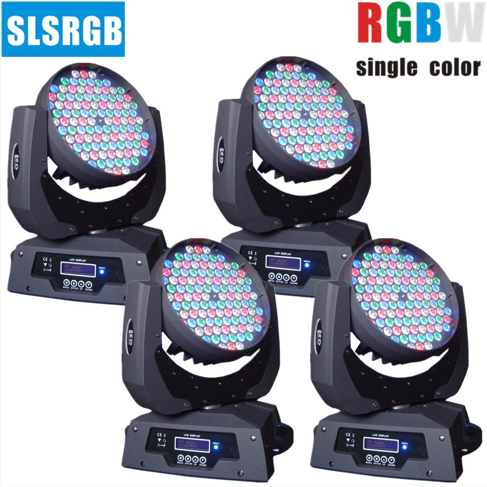 4 pcs lote 108x3 w moving head led luz para casamento evento club disco party dj