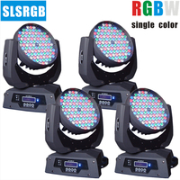 4pcs\/lot  108X3W Moving Head LED light for wedding disco party dj stage event club show LED Stage Lighting stage washer
