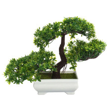 An Welcoming Pine Plant Plastic Bonsai Home Living Room Study Home Small Ornaments