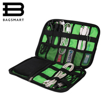 Electronic Accessories Organizers Bag For Hard Drive Organizers For Earphone Cables USB Flash Drives Travel Case