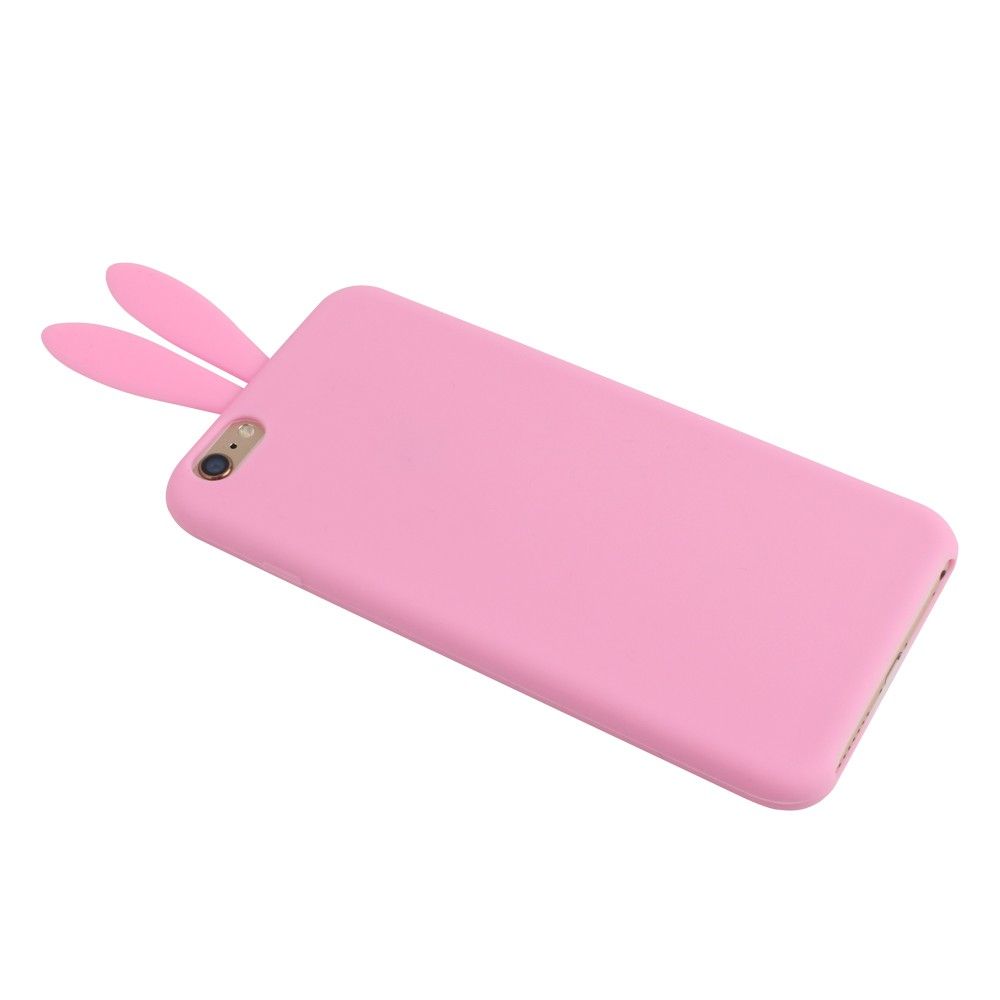 newest collection 5305a 4da72 US $2.4 |fashion cute Stuffed bunny tail phone case silicone sucker Rabbit  ears phone case for iPhone 6/6S/6PLUS/5/5S on Aliexpress.com | Alibaba ...