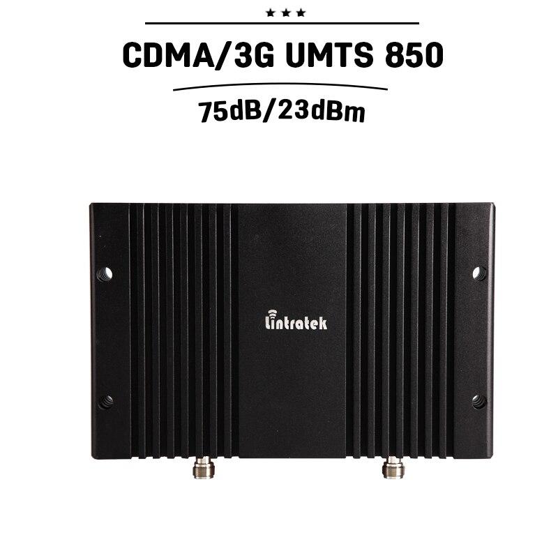 Cover 800 Square Meters Area GSM CDMA 850 Mhz 75dB Gain Mobile Cellular Signal Booster MGC Cell Amplifier Repetidor De Celular 3