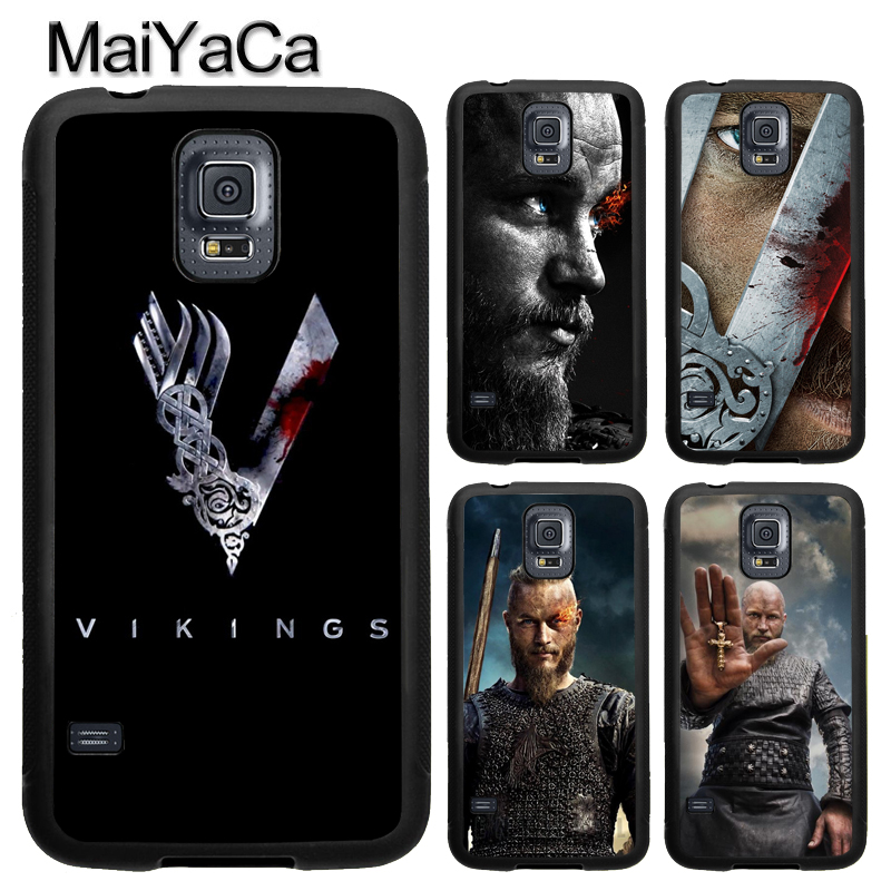 MaiYaCa VIKINGS TV Series RAGNAR LOTHBROK TPU Case For Samsung Galaxy S9 S8 Plus S4 S5 S6 S7 Edge Note 5 Note 8 Cover Back Case