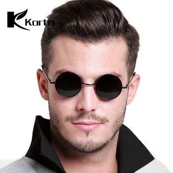 d9a4d05c31 John Lennon polarizado Hippie Vintage gafas de sol para fiesta Rave gafas  de sol redondas hombres círculo lentes Hip Hop Funnny sombras hombre