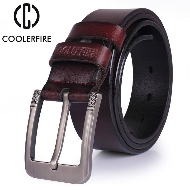 Hohe qualität aus echtem leder gürtel luxus designer gürtel - Bekleidungszubehör - Foto 2
