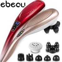 New Electric Body Massager Neck Massage Hammer Dolphin Electric Cervical Vertebra Massage Device Beauty Health