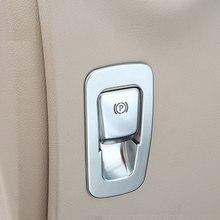 For Mercedes Benz W213 E GLC Class C-Class W205 2015-2017 ABS Matte Chrome Electronic Handbrake Cover Trim Refit