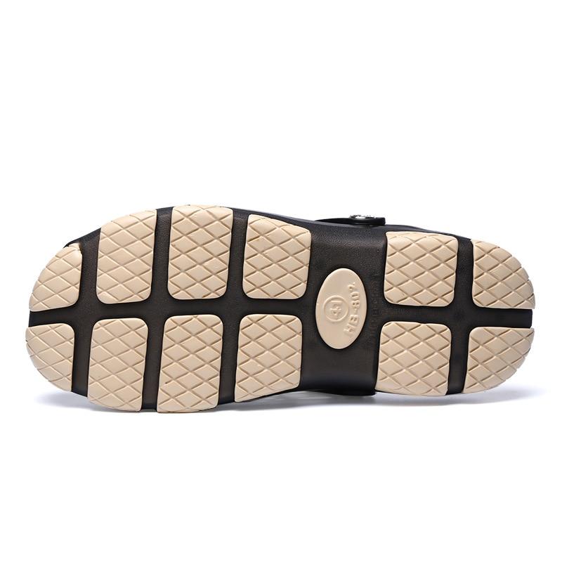 POLALI Gelee Schuhe 2018 Neue Sommer Männer Strand Sandalen Hohl Hausschuhe Männer Flip-Flops Unisex Alias Outdoor Sommer Chanclas