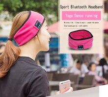 Headband Faixa de Cabelo Yoga Runing Ao Ar Livre Esportes de música Sem Fio Bluetooth Handsfree Stereo Headband com Microfone para Telefone Inteligente