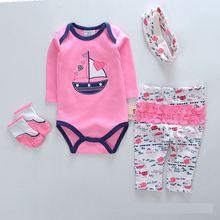 Костюмы для маленьких девочек; Комплект из 4 предметов; Детские
