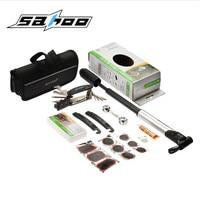 SAHOO Bicycle Repair Kits Bag Portable Cycling Bicicle Repair Tools Kits Tire Repair Kits Pump Multifunction Bicycle Bike Tools