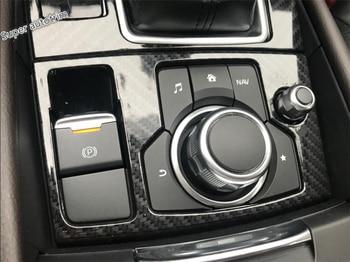 Lapetus For Mazda 6 Atenza Sedan & Wagon 2016 2017 Accessories Interior Transmission Shift Gear Panel Frame Cover Trim 2 Piece yimaautotrims transmission shift gear box protector panel cover trim 2 color interior fit for honda crv cr v 2017 2020