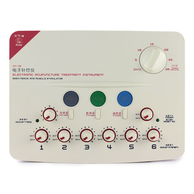 New SDZ-II Electronic Acupuncture Treatment Instrument for Migraine,Cervical spondylosis,Sciatica,Frozen Shoulder,Muscle Strain