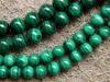 Free Shipping Natural 8mm Malachite Beads Bracelet Stone Min Order Is 1 5