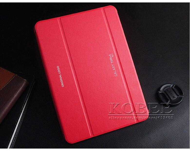 все цены на  TOP quality 2015 Original Business Ultra Slim Thin Leather Case Cover Forr Samsung Galaxy tab 4 10.1 10.1 T530 tablet  онлайн