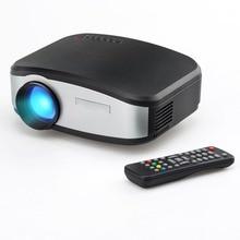 HOT Home Projector Mini Miniature Portable 1080P HD Projection Mini LED Projector For Home Theater Entertainment EU-Black