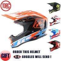 Free Shipping 2015 TORC Helmet Adult Moto Helm Casque Casco Capacetes Motorcycle Helmet Off Road Racing