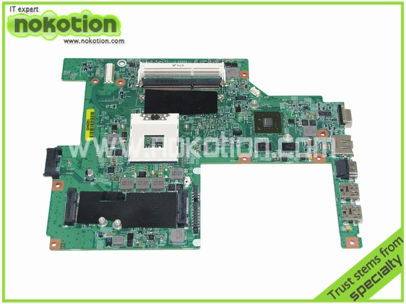все цены на  NOKOTION CN-0W79X4 Laptop motherboard for DELL VOSTRO 3500 Intel HM57 NVIDIA GeForce GT310M Mainboard  онлайн