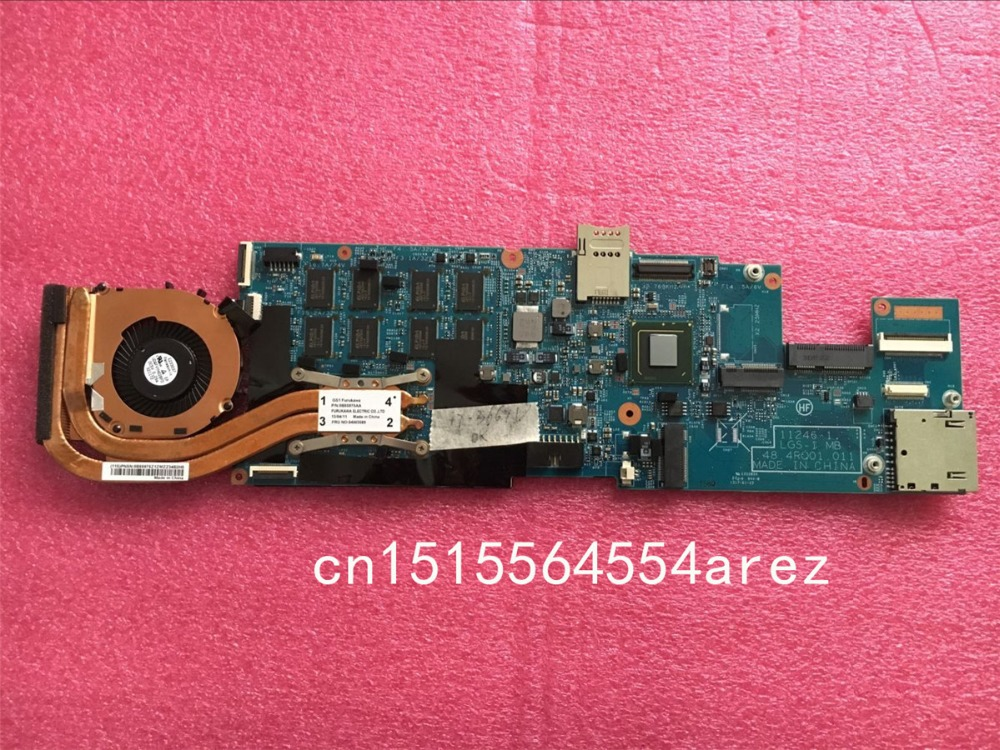 все цены на Original laptop Lenovo ThinkPad X1 Carbon TYPE 34XX motherboard mainboard with fan I7-3667 CPU no-touch FRU: 04Y1988 8G W8P онлайн