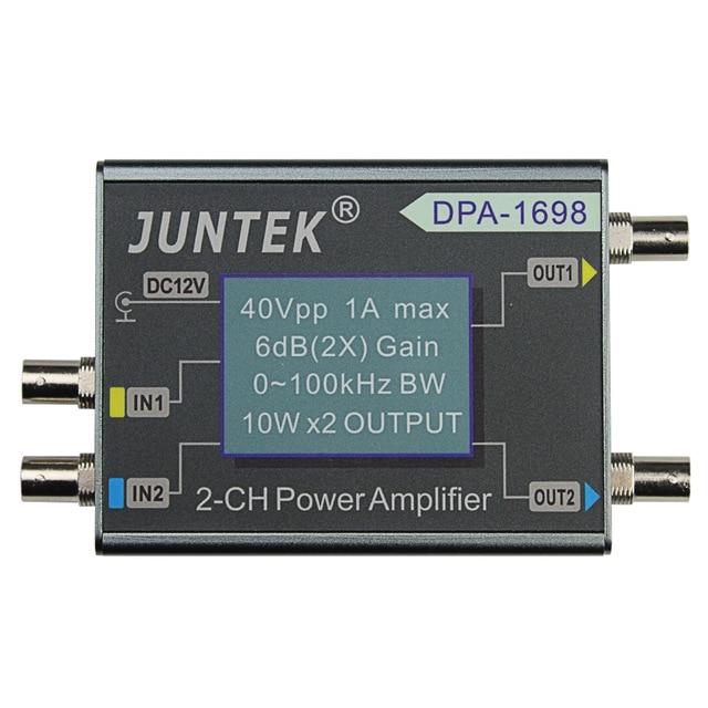 High Power 0~100KHZ Dual Channel 10W X2 DDS Functional Signal Generator Power Amplifier