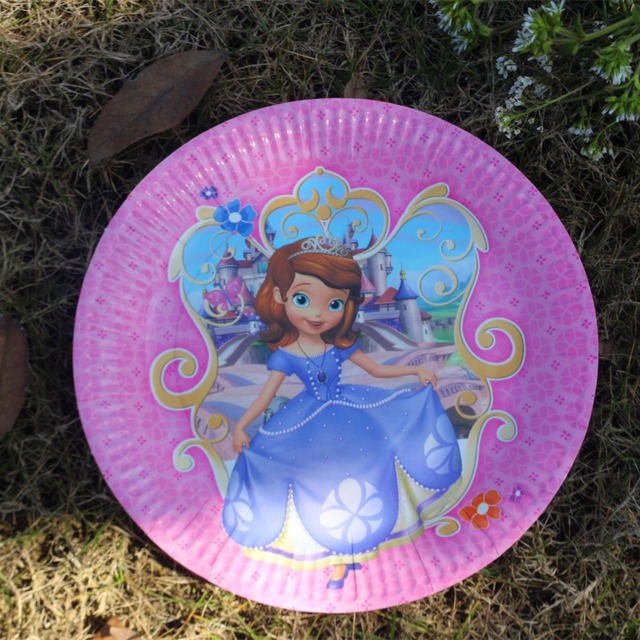 10pcs 7inch Disposable Paper Plate Sofia Princess Cartoon Theme Kid Boy Birthday Party supplies 7inch Printing & 10pcs 7inch Disposable Paper Plate Sofia Princess Cartoon Theme Kid ...