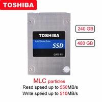 Original TOSHIBA 240GB Internal solid state drive Q200 EX 480GB MLC Hard Drive Disk 2.5 SATA 3 SSD High Speed Cache for Laptop
