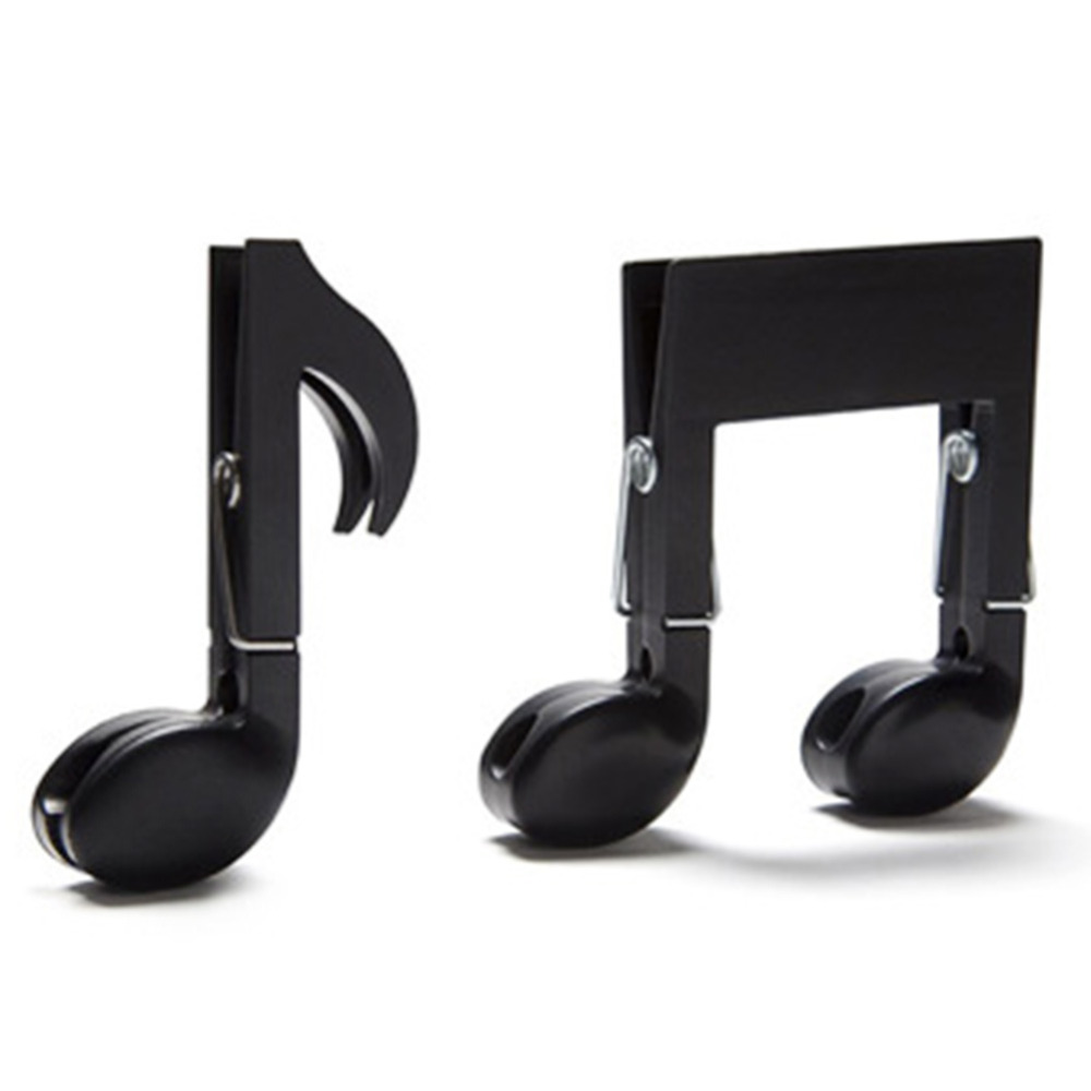 US $2 2 17% OFF|NAIYUE Black Music Clips Bookmark Vintage Key Musical  Instruments Bookmark Paper Clothes Clip for Book Mark Notes-in Hooks &  Rails