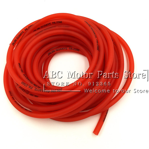Universal Fuel Hose / oil hose / fuel tubes for motorcycle parts /pit bike parts/ATV/monkey bike/motorcycle/ scooter 0.4cm Dia