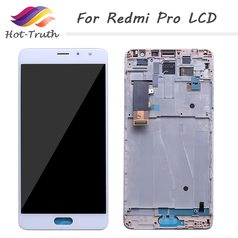 AMOLED 5.5 Original LCD For XIAOMI Redmi Pro Display Touch Screen Digitizer with Frame Replacement for Xiaomi Redmi Pro Display