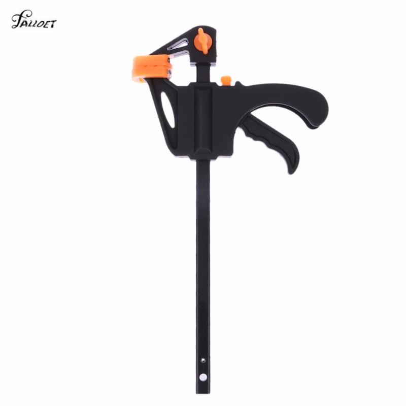 4 Inch Quick Ratchet Release Speed Squeeze Wood Working Work Bar Clamp Clip Kit Spreader Gadget Tool DIY Hand quick ratchet release speed squeeze woodworking work bar clamp clip kit 4 6 12 18 inch wooden spreader gadget tool diy hand