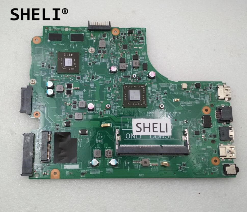 SHELI Per Dell 5435 Scheda Madre A6-5345M CPU 48.4W703.0SC CN-03DYK0 03DYK0 3DYK0SHELI Per Dell 5435 Scheda Madre A6-5345M CPU 48.4W703.0SC CN-03DYK0 03DYK0 3DYK0