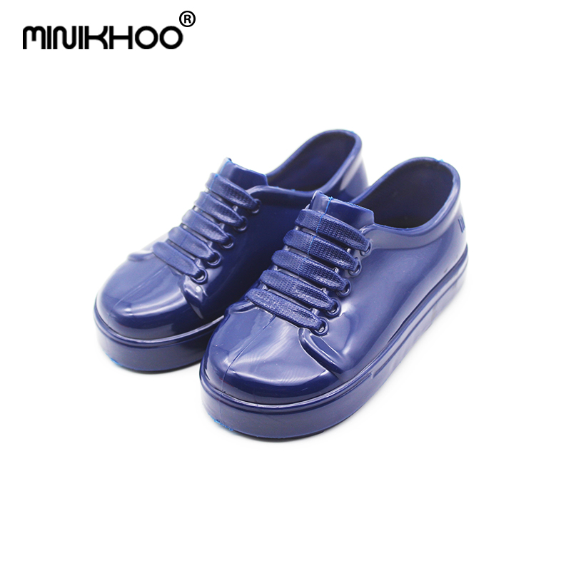 Mini Melissa Jelly Sandals 2018 New Jelly Shoes Waterproof Sandals Girls Melissa Sandals Breathable Beach Shoes Princess Shoes