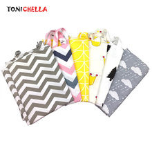 Cotton Breastfeeding Cover Nursing Covers Up Udder Covers Shawl for Outdoors Baby Feeding Stroller Chair Covers T0891