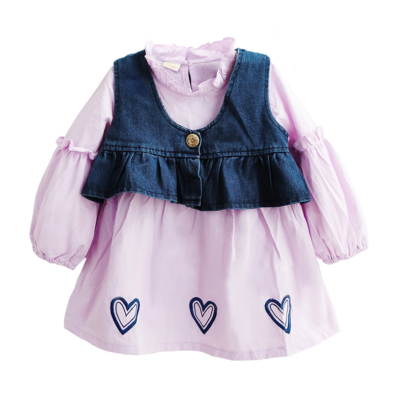 Toddler Girls Clothes Sets Spring autumn 2017 Baby Girl Set New Year's costumes for Children's Clothing Kid Outfits 2 6 8 10 11T fashion brand autumn children girl clothes toddler girl clothing sets cute cat long sleeve tshirt and overalls kid girl clothes