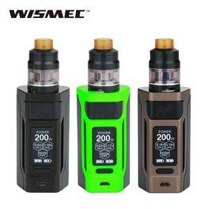 Original 200W WISMEC Reuleaux RX2 20700 Kit TC con doble 20700 baterías 6000mAh 2 ml/4 ml Gnome atomizador E cigs RX 2 Vape Kit