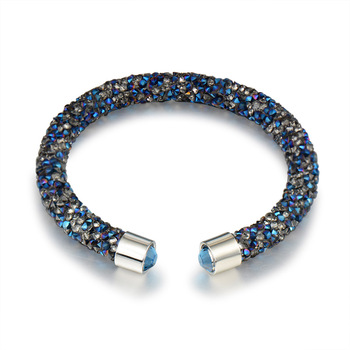 Κρυστάλλινο τυλιχτό βραχιόλι Βραχιόλια Κοσμήματα Αξεσουάρ MSOW