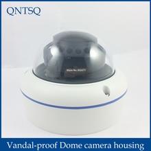 CCTV камера металлическая крышка купола корпуса, антивандальная купольная камера корпус