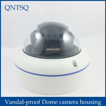 CCTV camera Metal Dome Housing Cover,Vandal proof Dome camera housing