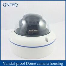 Güvenlik kamerası Metal Kubbe Konut Kapak, Vandal proof Dome kamera muhafazası