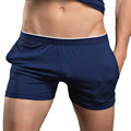 Sexy Men Boxer Shorts Underwear Solid Color Male Panties Underpants Boxers Gay Pull In Masculina Underwear Brand Clothing