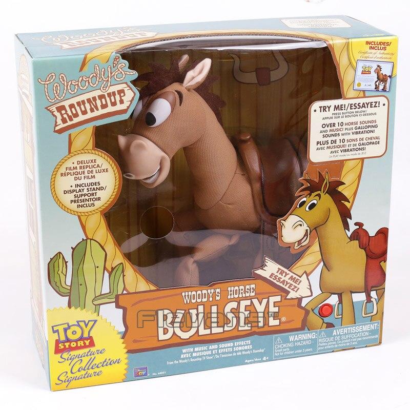 где купить Toy Story Woody's Horse Bullseye with Music and Sound Effect PVC Action Figure Collectible Model Toy 35cm по лучшей цене