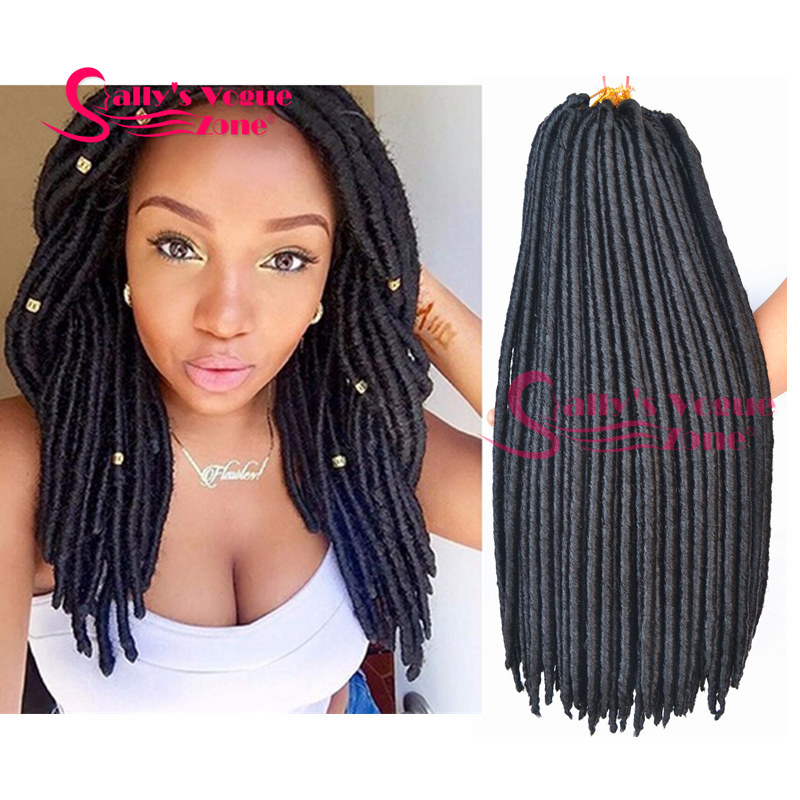 Crochet Braids Dreads : ... Crochet Braids Hair Black Twist Synthetic Dread Locs Crochet Braid