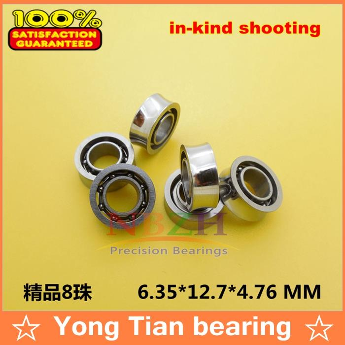 "Yoyo Standard U Surface Ball Bearing KKR188 R188KK R188UU <font><b>1</b></font>/<font><b>4</b></font>""x1/2""x3/16"" inch(6.35 <font><b>x</b></font> 12.7 <font><b>x</b></font> <font><b>4</b></font>.762mm) YYJ specifications <font><b>8</b></font> beads"