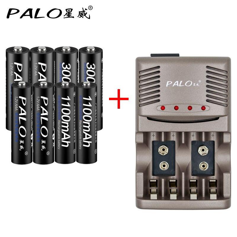 Baterias Recarregáveis 4 pcs aa + 4 Número DA Bateria : 4pcs Aa+4pcs AAA